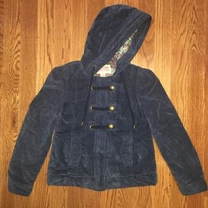 Mossimo Navy Blue Coat Juniors Size Small